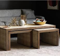 living room table sets best best 25 nesting tables ideas on pinterest painted nesting
