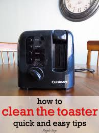 English Toaster How To Clean The Toaster Angela Says