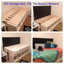 Ikea Bed Hack Ikea Hack Diy Raised Bed Using 4 Kallax Expedit Shelving Units