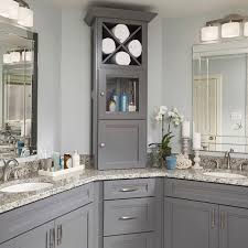 Grey Bathroom Cabinets Looking Grey Bathroom Cabinets Fresh At Kitchen Design