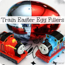 train gifts easter baskets play trains