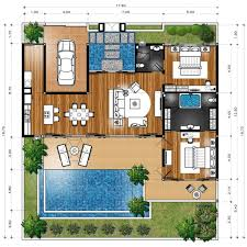 villa floor plan master plan villa type b maison master plan and villas