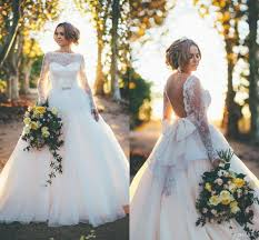 wedding dresses with bows backless wedding dress 2015 gown sleeve lace