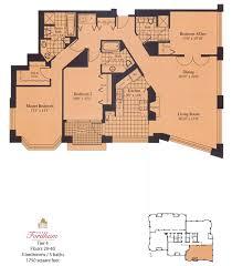 the fordham chicago floor plans 25 e superior