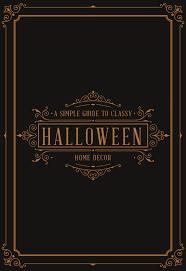 classy halloween decor pictureauto us