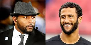 Ray Lewis Memes - everyone is destroying ray lewis for telling colin kaepernick to