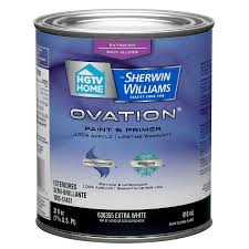 shop hgtv home by sherwin williams ovation exterior paint at lowes com