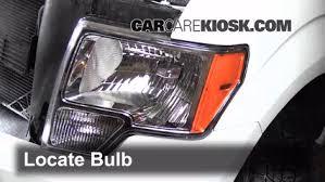 ford f150 headlight bulb headlight change 2009 2014 ford f 150 2013 ford f 150 fx2 5 0l