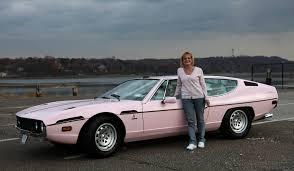 pink lamborghini car a pink lambo well it s personal auto ego lamborghini espada