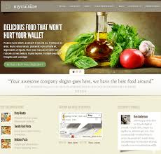 blogs design 21 wordpress themes for food blogger
