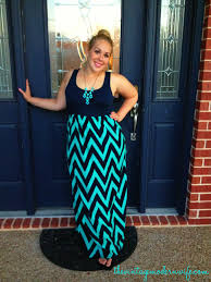 chevron maxi dress chevron with avery the vintage modern