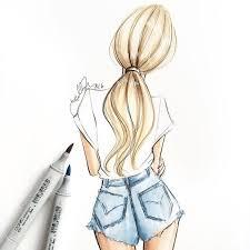 best 25 fashion illustration hair ideas on pinterest fashion