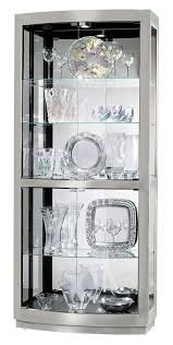 white curio cabinet glass doors maximizing collections visibility