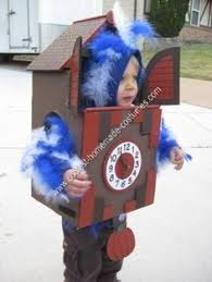 Cool Boys Halloween Costumes Coolest Homemade Cuckoo Clock Halloween Costume Toddler