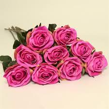 Silk Amaryllis Flowers - decorative artificial silk amaryllis wedding table centerpieces