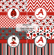 ladybugs u0026 gingham shower curtain personalized potty training