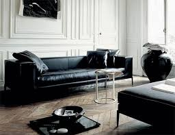 Black Leather Sofa Modern 43 Best Sofa Noir Images On Pinterest Home Ideas Homes And