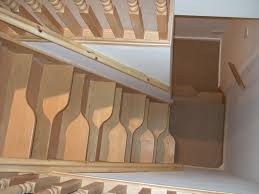 Small Space Stairs - storage shelves for small spaces under the stairs for small space