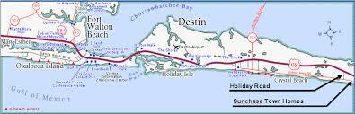 destin map tell