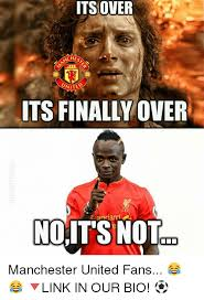 Funny Man Utd Memes - its over cheo united its finally over ndardt noits not old