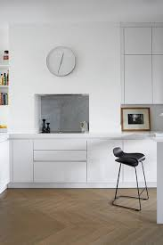 modern white kitchen ideas modern white kitchen with herringbone wooden floor herringbone