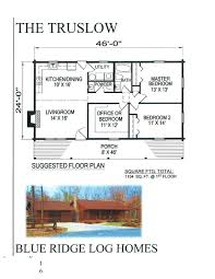 One Story Log Home Floor Plans One Story Log Homes Blue Ridge Log Homes 540 337 0033