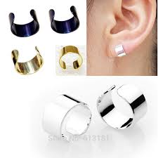 clip on earrings for men earrings bangles picture more detailed picture about simple