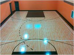 Half Court Basketball Dimensions For A Backyard by Indoor Courts Lake Shore Sport Court