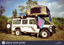 land rover discovery camping rooftent stock photos u0026 rooftent stock images alamy