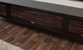 Espresso Laminate Flooring Floating Tv Stand Entertainment Console Eco Geo Espresso 3 Piece