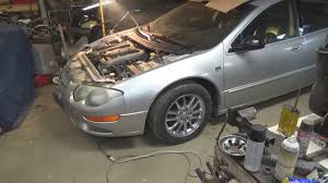2001 2004 chrysler 300m inner tie rod bushing replacement pt 3