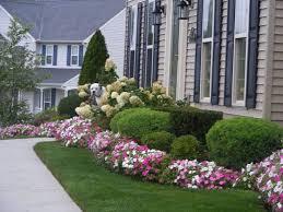 backyard amusing front yard flower beds stunning colourful