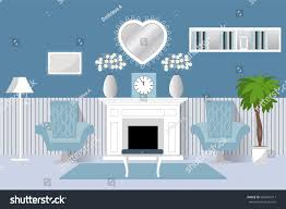 interior room vector living room design stock vector 664841311