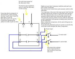 wiring diagram compressor wiring diagram single phase compressor