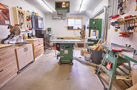 building a workshop garage michael s garage workshop the wood whisperer