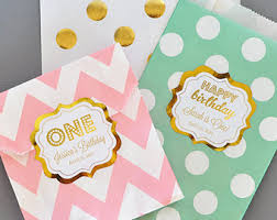 where to buy goodie bags 1st birthday favors etsy