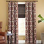 margaritte embroidered drape potterybarn matches our new red