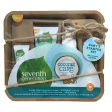 baby gift sets seventh generation coconut care travel size baby gift set target