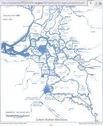 san francisco delta map elevation maps of the sacramento san joaquin delta region
