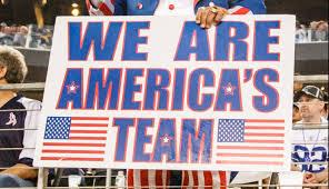 Dallas Cowboys American Flag Apparently Cowboys Weren U0027t Nfl U0027s First Choice For U0027america U0027s Team