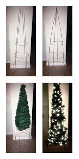 Cheap Christmas Decorations And Lights by 17 Apart Diy Tomato Cage Christmas Tree Lights Decorating