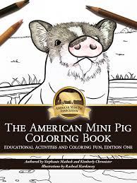 the american mini pig association launches an educational book