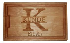 personalized cutting board personalized cutting board with date or name justplaincute
