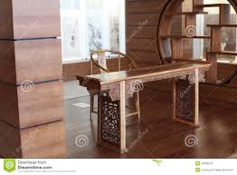 Chinese Study by Traditional Chinese Study Room Royalty Free Stock Photo Image