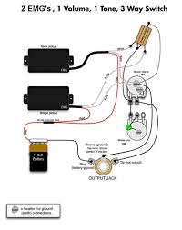 guitar wiring 2 volume 1 tone 2 humbuckers 2 volume 1 tone 3 way
