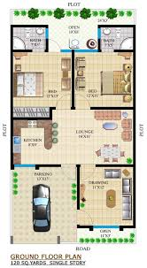 120 yard home design 160 yards house plan house and home design