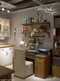 Craft Room Tables - craft room cottage style ideas from ikea cottage magpie