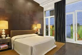 Modern Guest Bedroom Ideas - modern guest bedroom with hardwood floors u0026 high ceiling in new