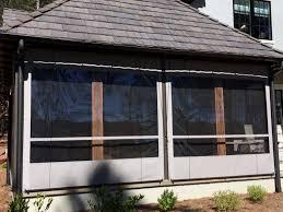 Clear Vinyl Patio Enclosures by Clear Plastic Vinyl Patio Curtains Walls Canada Icamblog