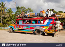 jeepney philippines art jeepney on the philippines stock photo royalty free image